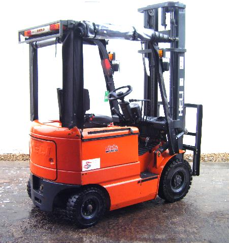 used heli electric fork lift truck