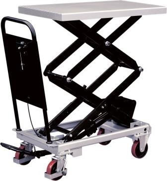 Double Mobile Lift Table