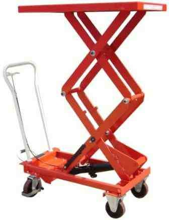 Double Mobile Scissor Lift Table