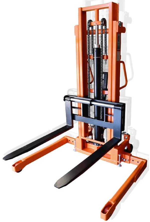 Wide Straddle Stacker