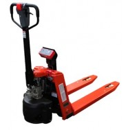 SEMI-ELECTRIC WEIGH SCALE PALLET TRUCK