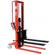 Manual Pallet Stacker with Adjustable Forks