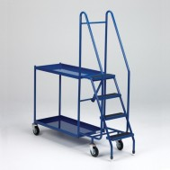 Mobile Order Picking Trolley 2 and 3 Shelf