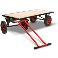 Platform Turntable Truck Trolley