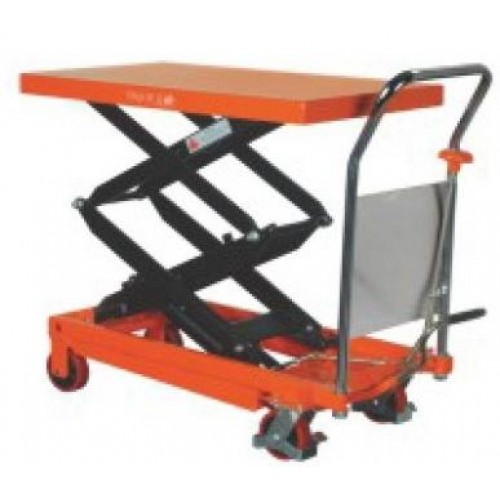 MANUAL 350KG DOUBLE SCISSOR LIFT TABLE - LT350DBL (1-2 DAY LEAD TIME)
