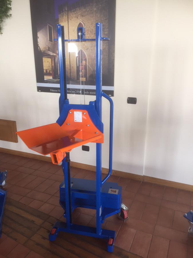 Manual Stacker with Reel Attachment
