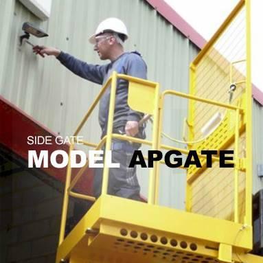 Gated Forklift Access Platform