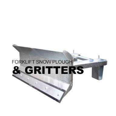 Forklift Snow Plough and Gritters
