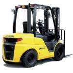 Diesel 4-Wheel Counter Balance Forklift Truck 2.2 - 3.3 tonnes