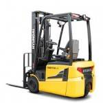 Electric 3-Wheel (24 V) Counter Balance Forklift Truck 1.0 - 1.5 tonnes