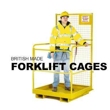 British Forklift Man Cages