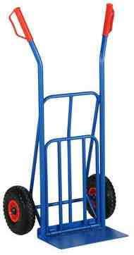 Solid Rubber Tyre Sack Truck