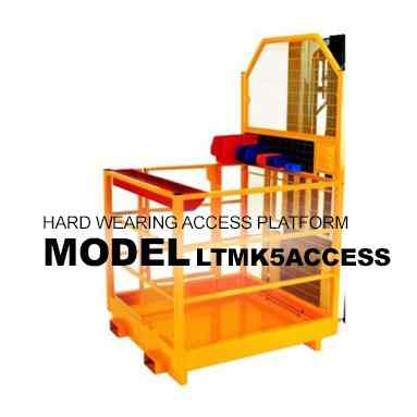 Heavy Duty Forklift Mounted Access Platform