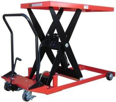 Low Profile Mobile Scissor Lift Table