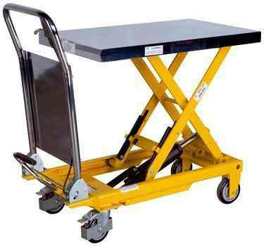 Light Weight Mobile Lift Table