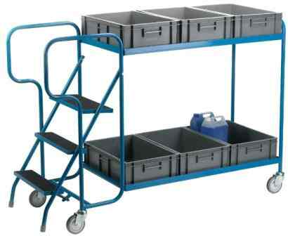 Container Model Order Picking Trolley