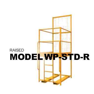 Raised Forklift Mounted Access Platform