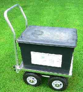 Aluminium Recycling Bin Trolley