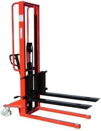 Manual Pallet Stacker with Adjustable Forks
