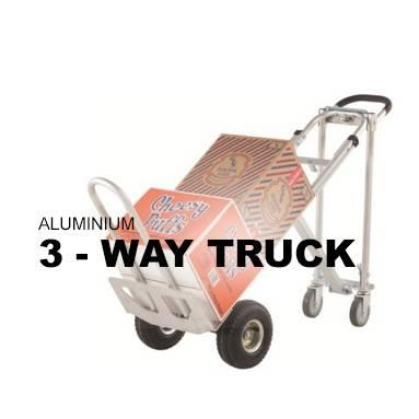 Aluminium Three Way Truck