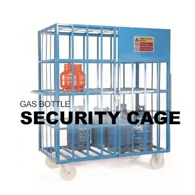 Gas Bottle Security Cage