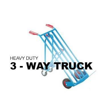Heavy Duty Three Way Sack Truck