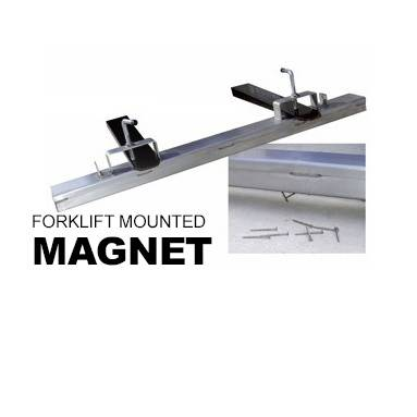 Forklift Mounted Magnet Attachment