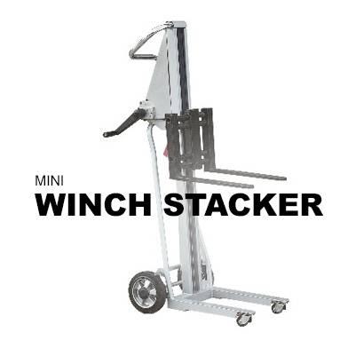 Mini Winch Stacker