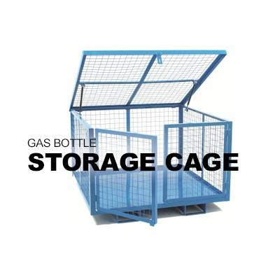 Gas Bottle Storage Cage
