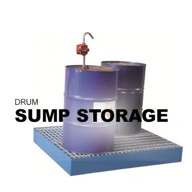 Drum Sump Storage
