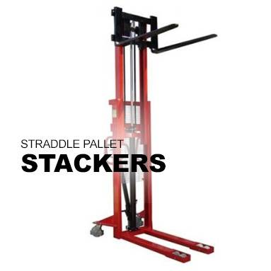 Straddle Pallet Stackers