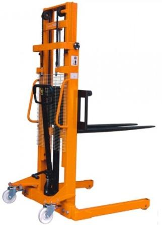 Manual Stacker with Straddle Legs