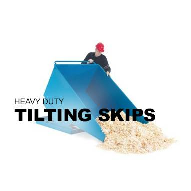 Heavy Duty Tilting Skips
