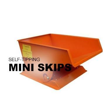 Self-Tipping Mini Skip
