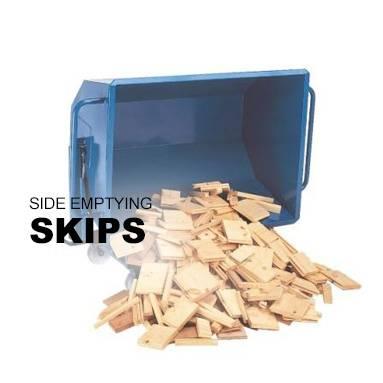 Side Emptying Skip